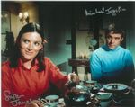 Susan Jameson and Michael Jayston Genuine autograph